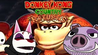 Let's play Donkey Kong Country Returns part 2: Konky Dong