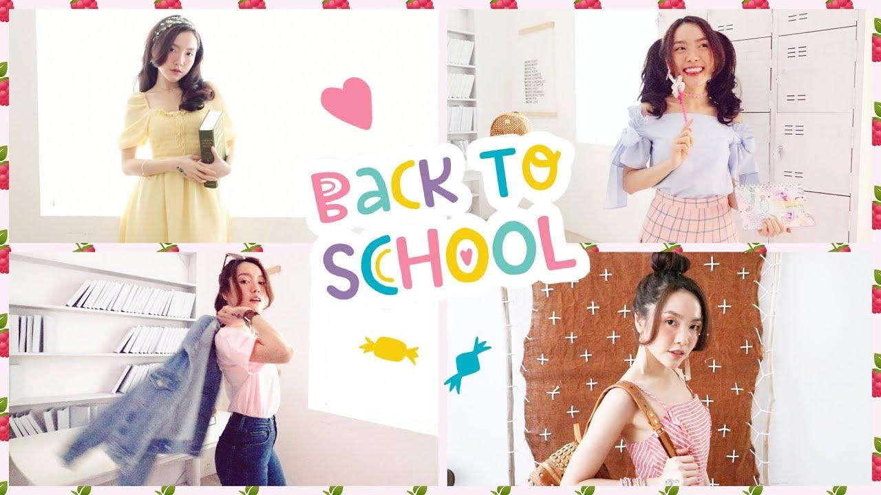 #HiSkool: Mix&Match 6 Phong Cách Thời Trang Đi Học 🎒👓   Lindsie Pham
