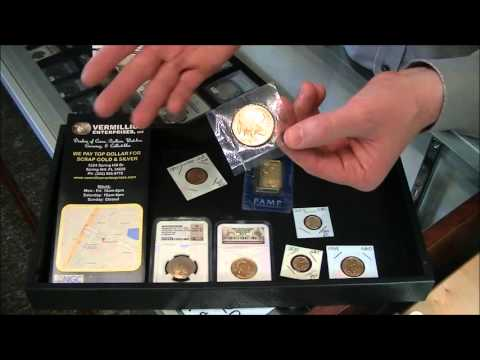How to Sell Gold Coins and Bullion in Spring Hill, FL