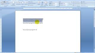 Microsoft Office Word 2007 - Ders 3 - Paragraf Ve Satır Aralığı Mesafeleri