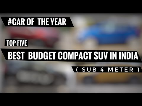 BEST BUDGET COMPACT SUVs IN INDIA