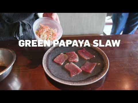 Recipe: Cured Tuna Crudo