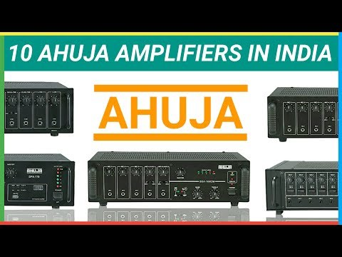 10 Ahuja Amplifiers With Price In India 2018