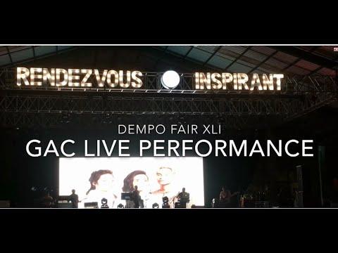 GAC (Gamaliél Audrey Cantika) Live Performance Dempo Fair XLI / Dempo Fair 2018 Malang