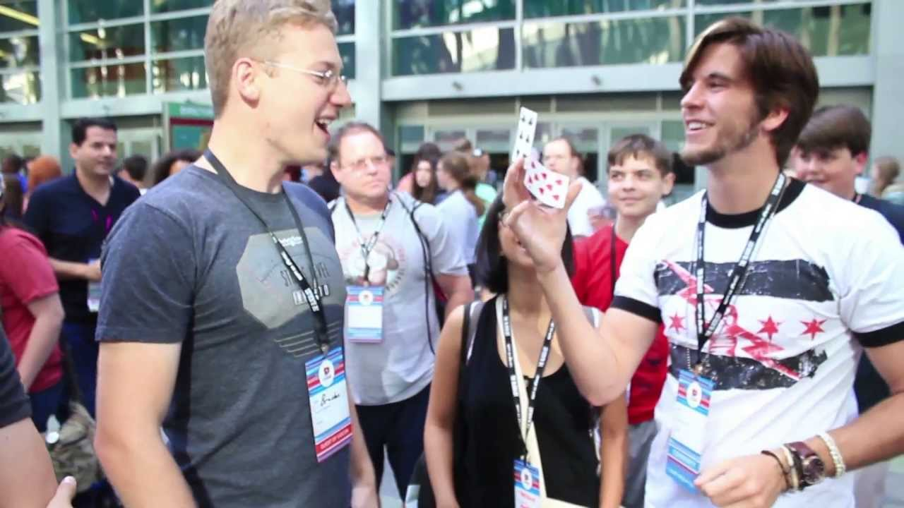 Image result for Jarek 1:20 Slaps YouTubers In the Face with Magic | What's Trending Now