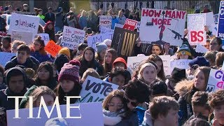 Students March To White House To Protest Gun Violence On The Columbine Shooting Anniversary | TIME thumbnail