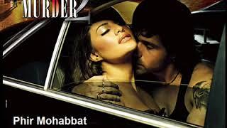 Phir Mohabbat Karne Chala #OnlyKaraoke Song| Murder 2 | Original Version