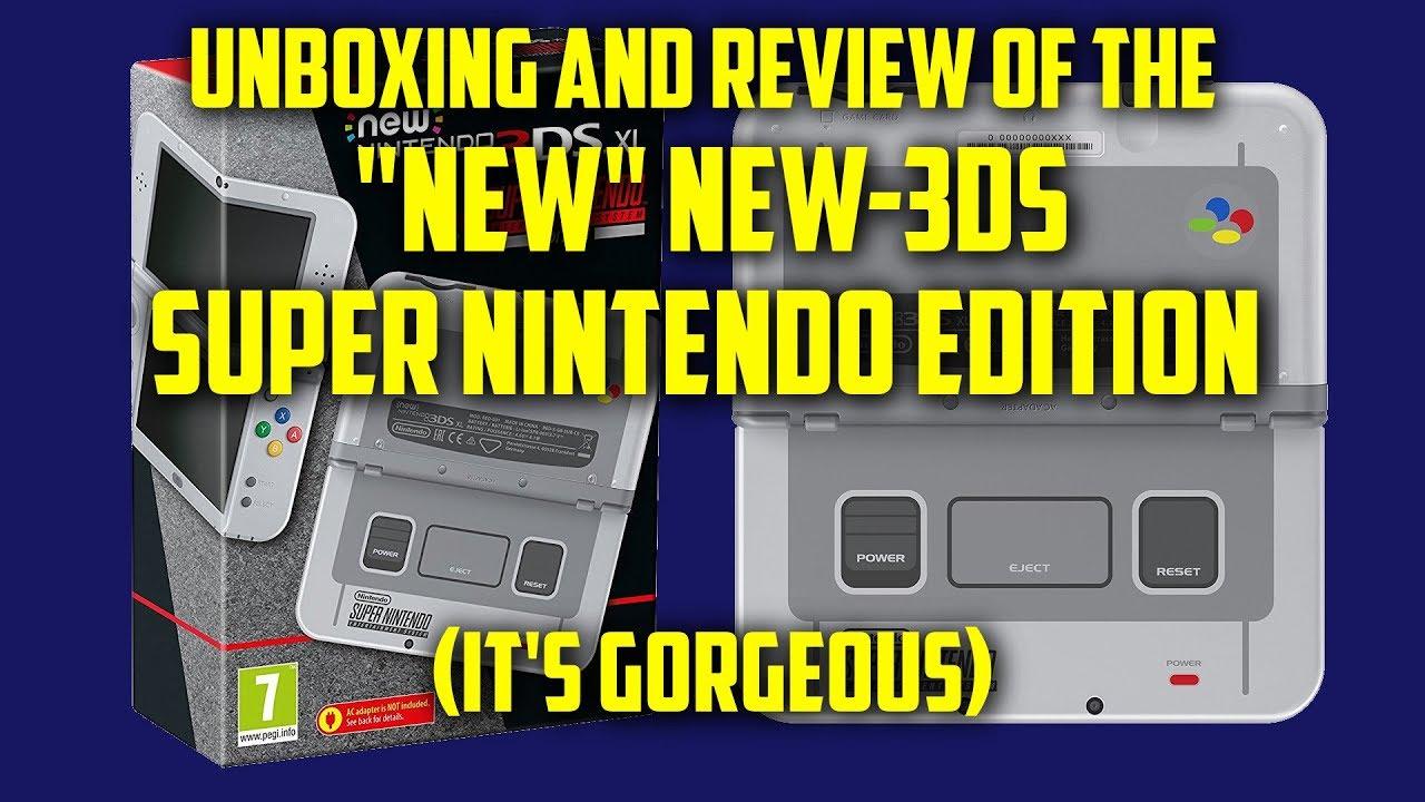 nintendo 3ds snes edition review