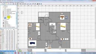 План одноэтажного частного дома [ Вариант 1 ]