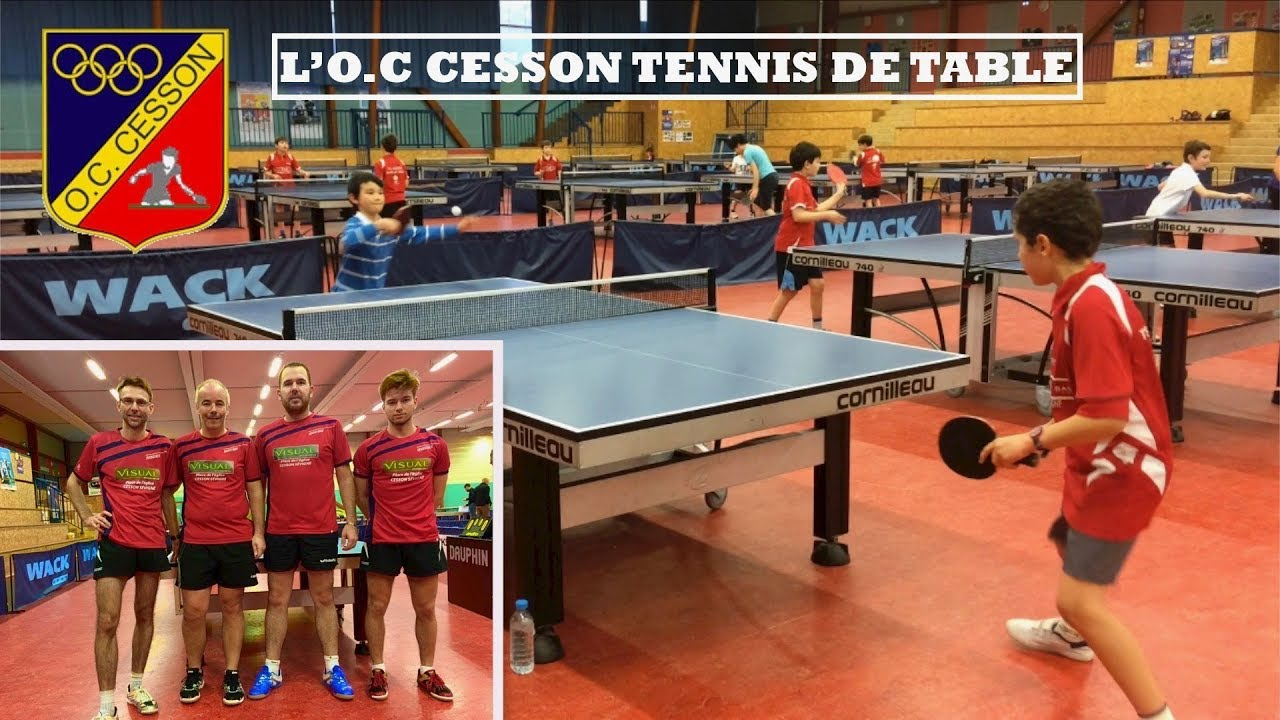 Wack Sport Tennis De Table Présentation De L O C Cesson Tennis De Table