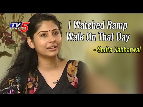 Smita Sabharwal About Outlook Magazine Controversy | IAS Officer Special Interview | TV5 News