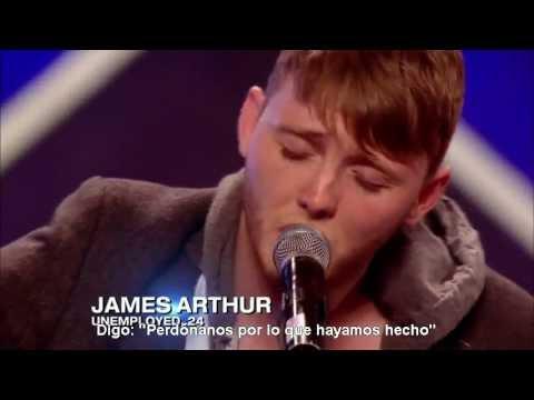 Audición de James Arthur - The X Factor UK 2012 (Subtitulado al español)