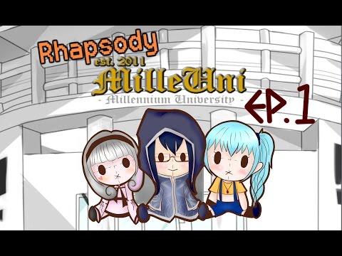 〔Rhapsody〕RPG-MilleUni EP.1傲嬌的SU長萌萌噠〈暗、釋、Hunter〉 thumbnail