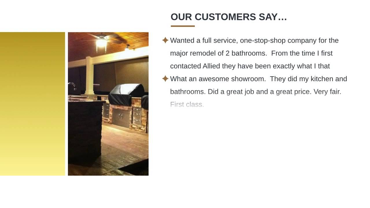 One stop kitchen and bath - Allied Kitchen Reviews Oakland Park Fl Kitchen And Bath Remodeling