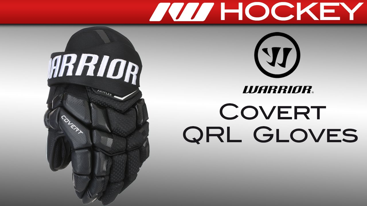 6d4e3badf55 Warrior Covert QRL Hockey Gloves Review - YouTube