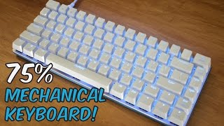 ajazz ak33 zorro keyswitches 75 gaming mechanical keyboard unboxing review