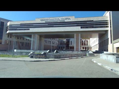 Дороги Армении - #9 Новый медицинский центр Ванадзор. Площадь. Универмаг. Проспект..