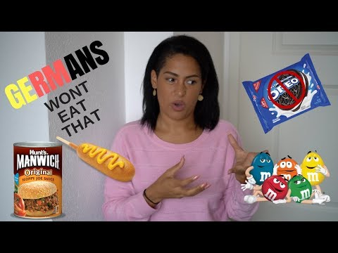 5 AMERICAN FOODS GERMANS WOULD NEVER EAT (EWW)