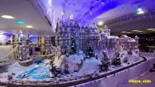 Gingerbread Holiday Display at Sheraton Waikiki, Hawaii 2014. GoPro Hero.