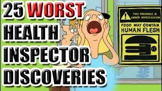 25 Worst Health Inspector Discoveries [ASKREDDIT]