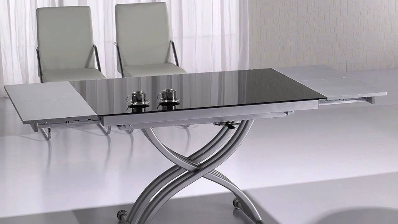 Table relevable rita youtube - Conforama table relevable ...