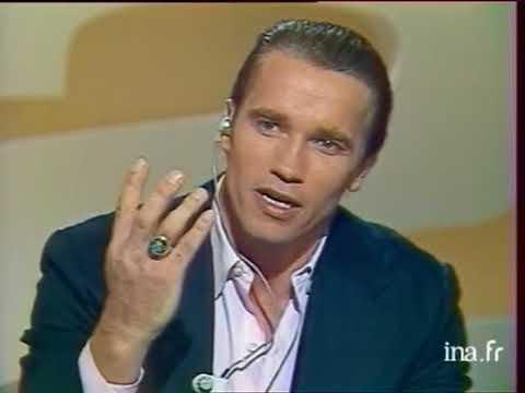 Interview d'Arnold Schwarzenegger pour présenter le film Commando