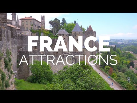 10 Top Tourist Attractions In France - Travel Video