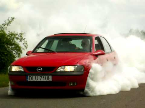 Opel Vectra B 2.5V6 175KM Burnout