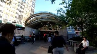 ⁴ᴷ⁶⁰ Walking NYC : Upper West Side - 96th Street from Central Park to Riverside Park
