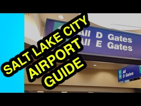 Salt Lake City Airport (SLC) Ultimate Tour With Hyperlapse - Reduce Stress And Plan For SLC