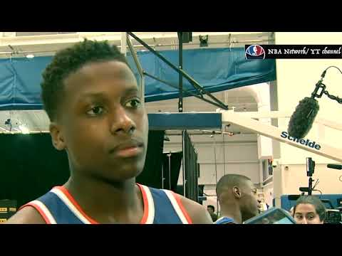 Frank Ntilikina - Working Out; Getting Ready for the NBA!
