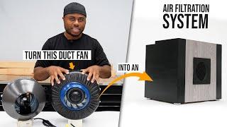 DIY 440 CFM AIR filtration system