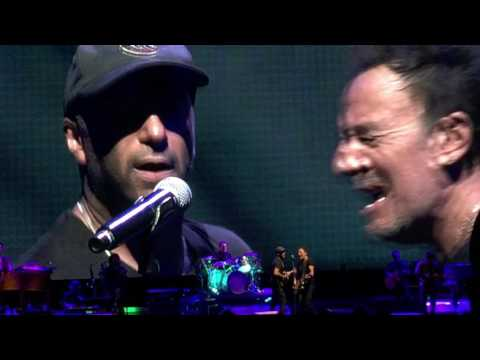 Bruce Springsteen and Tom Morello Ghost of Tom Joad 8/25/16 MetLife Stadium, NJ