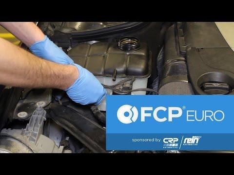 Mercedes Expansion Tank Replacement Rein/Pensosin – Simple DIY (CLK550)