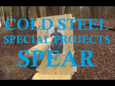 special projects cold steel