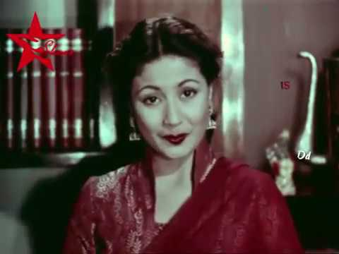 Dream House 1953 - Meena Kumari & Ashok Kumar in Dunlopillo UK Advertisement
