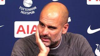 Tottenham 0-1 Manchester City - Pep Guardiola Full Post Match Press Conference - Premier League
