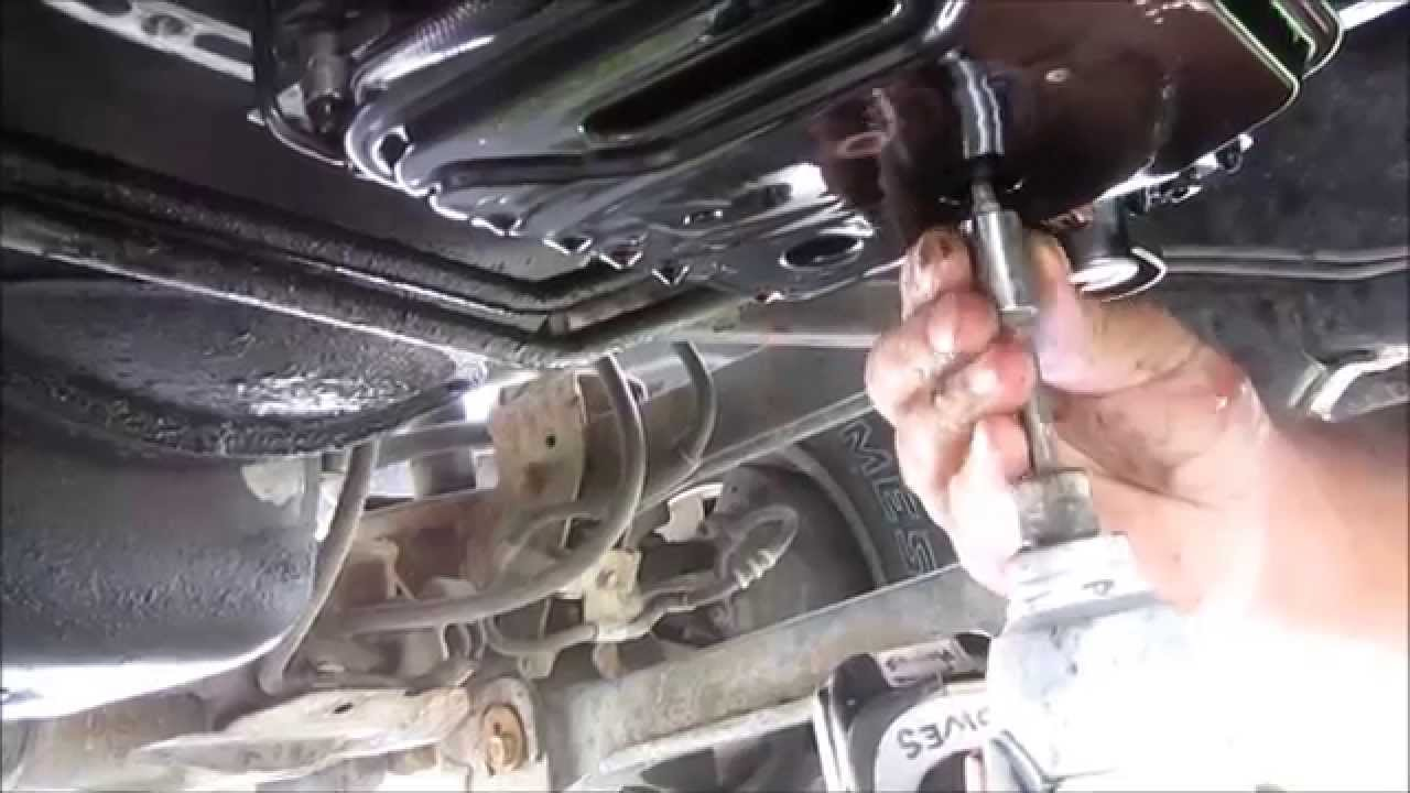 diy 1998 dodge ram 2500 transmission filter replace [ 1280 x 720 Pixel ]