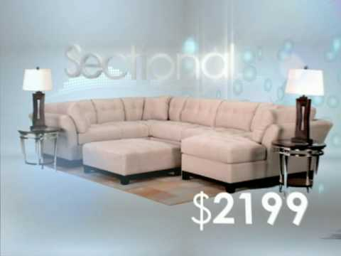 Cindy Crawford Colors Living Room Furniture Collection | Rooms To Go    YouTube Part 81