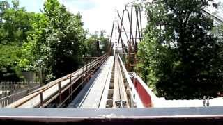 Powder Keg Front Seat on-ride HD POV Silver Dollar City