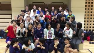 桐蔭横浜大学女子ハンドボール 2016インカレ前②