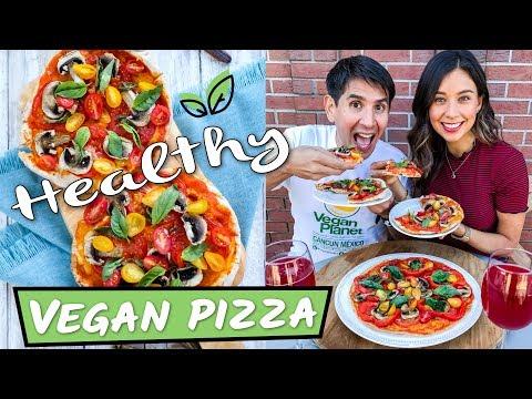 VEGAN PIZZA RECIPE! HEALTHY & EPIC