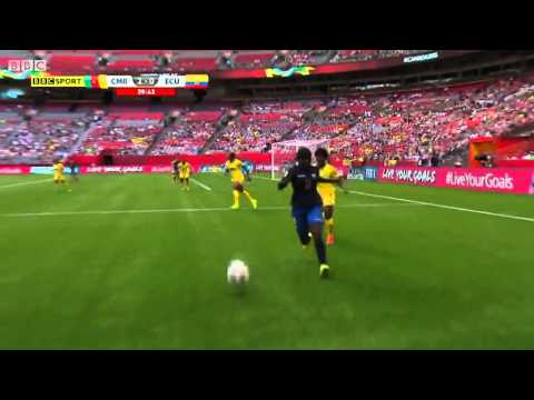 Cameron Ecuador 2015 Women's World Cup Full Game
