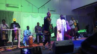 SPECIAL SAINT VALENTIN 2019: Diner de  Gala Pape Diouf au Pencha mi hall Gambia