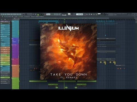 Illenium - Take You Down | Instrumental | FL Remake | FLP, MIDI, Stems & Presets