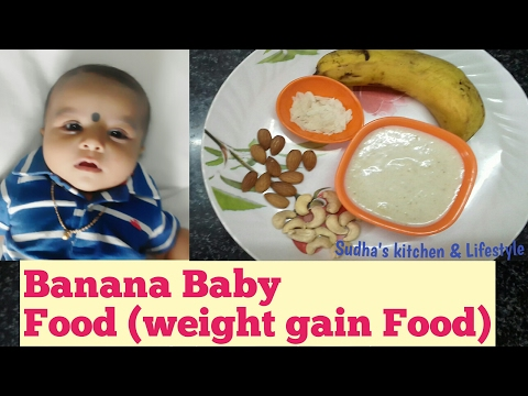 banana-baby-food|weight-gain-food-for-baby's|10-month-to-24-months-baby's-food|-by-sudha's-kitchen-&
