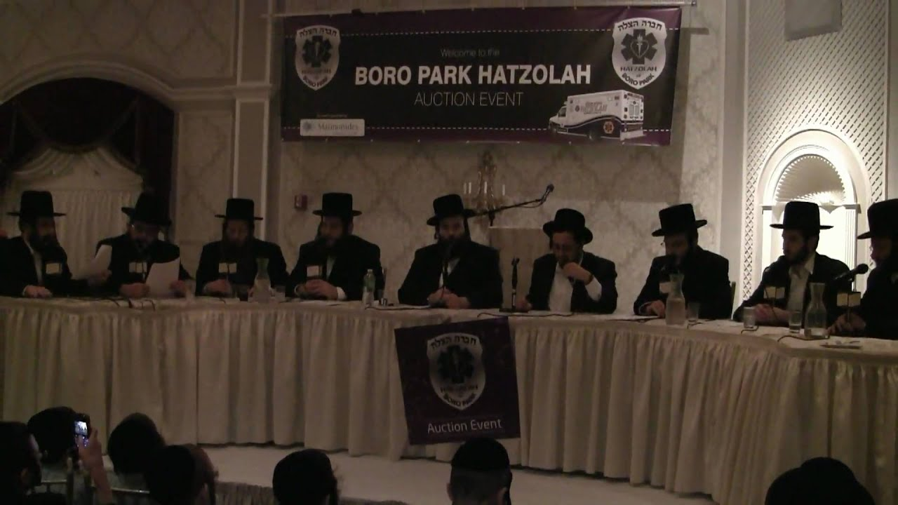 Lipa Schmeltzer and Shloime Taussig with Yedidim Choir Singing The Hatzolah Song