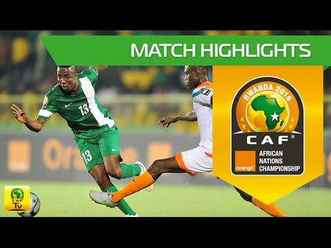 Nigeria Vs Niger   Orange African Nations Championship, Rwanda 2016