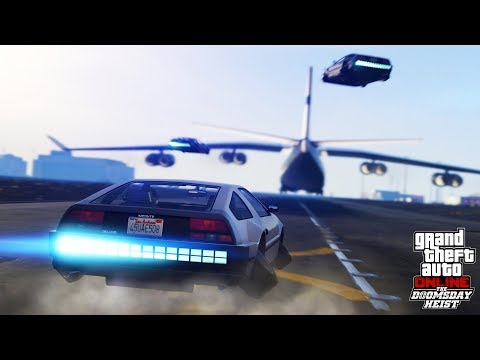 HIKEPLAYS: Grand Theft Auto 5 - THE DOOMSDAY HEISTS DLC - NEW JETPACKS, TANKS & PLANES