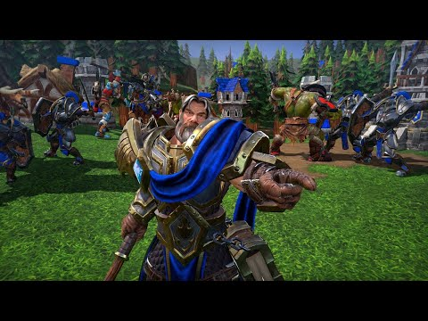 Playing Warcraft 3 Reforged, Warcraft 3 Reforged Giveaway at 12 PM ET!